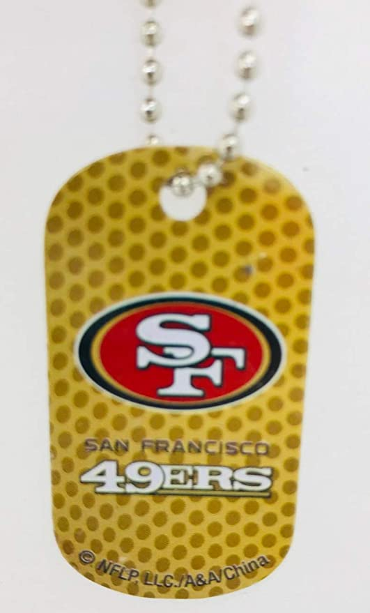 Amazon.com: Mirror Mania San Francisco 49ers NFL – Cadena ...
