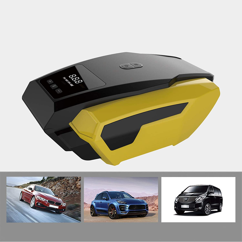 Amazon.com: Inflador de neumáticos portátil compresor de ...