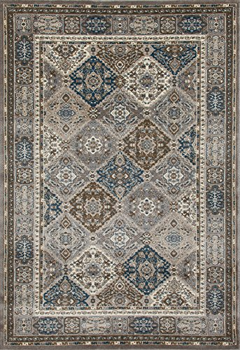 Art Carpet Arabella Collection Comfort Panel Woven Area Rug, 3'11