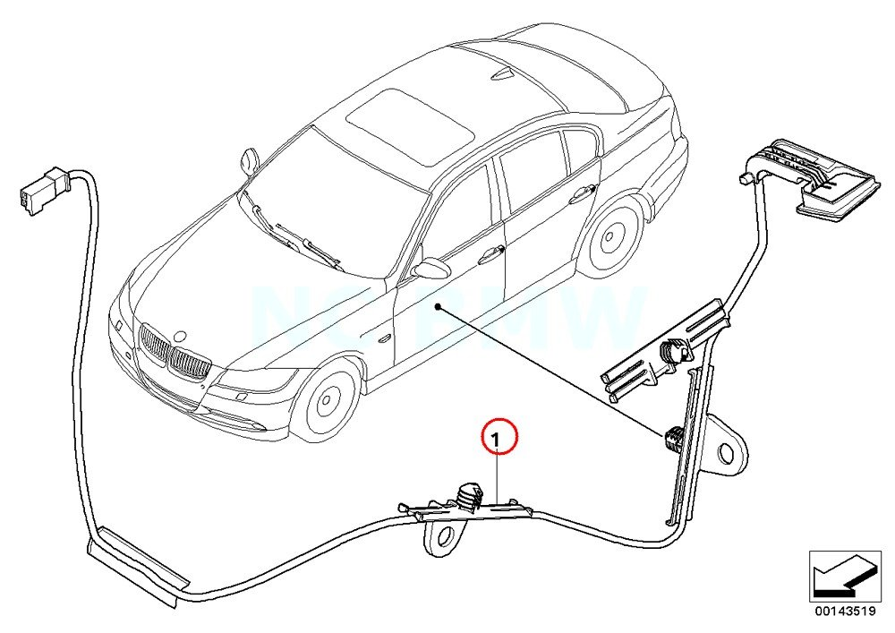 Amazon Com Bmw Genuine Right Door Handle Lighting Automotive