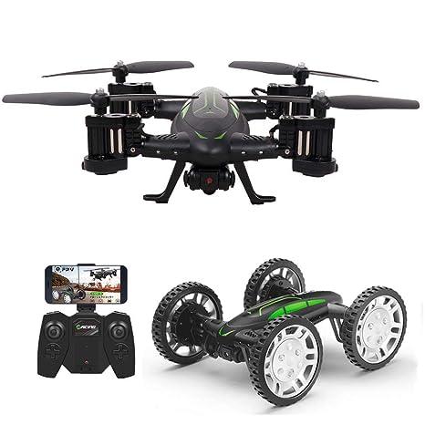 LSQR RC Drone con Cámara HD, Coche De Control Remoto Y Juguete ...