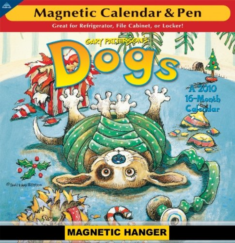 Gary Patterson's Dogs - Magnetic Mini 2010 Magnetic Calendar Dog 2010 Mini Calendar