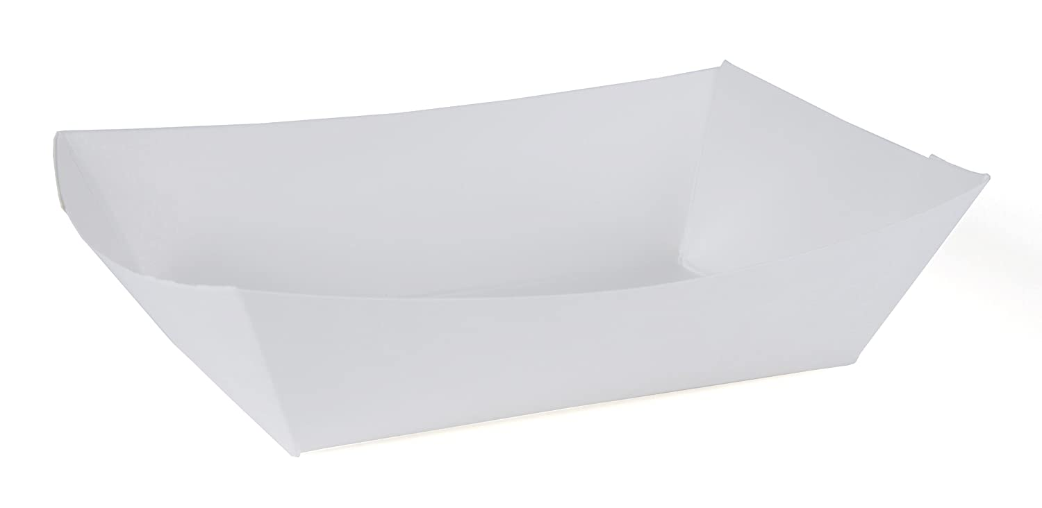Southern Champion Tray 0554 #200 Paperboard Food Tray, 2 lb Capacity, White (Pack of 1000)