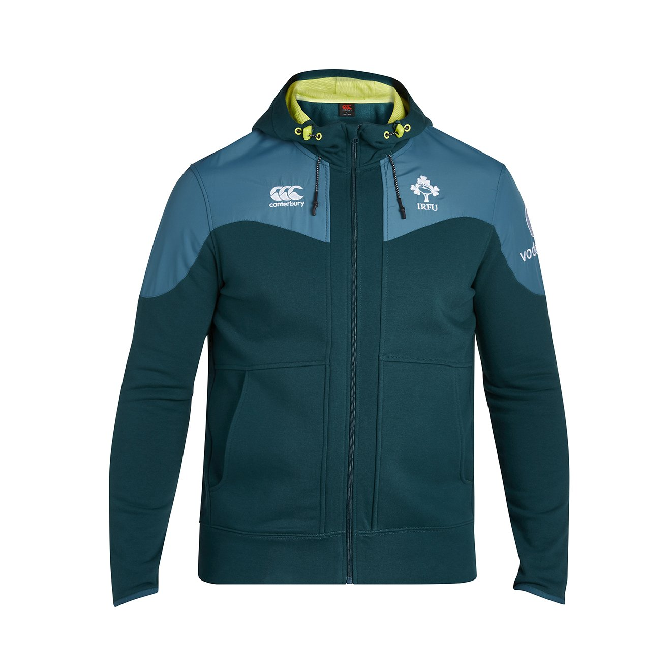 Irland RFC Herren Training Full Zip Hoodie Canterbury E753507-T67-8