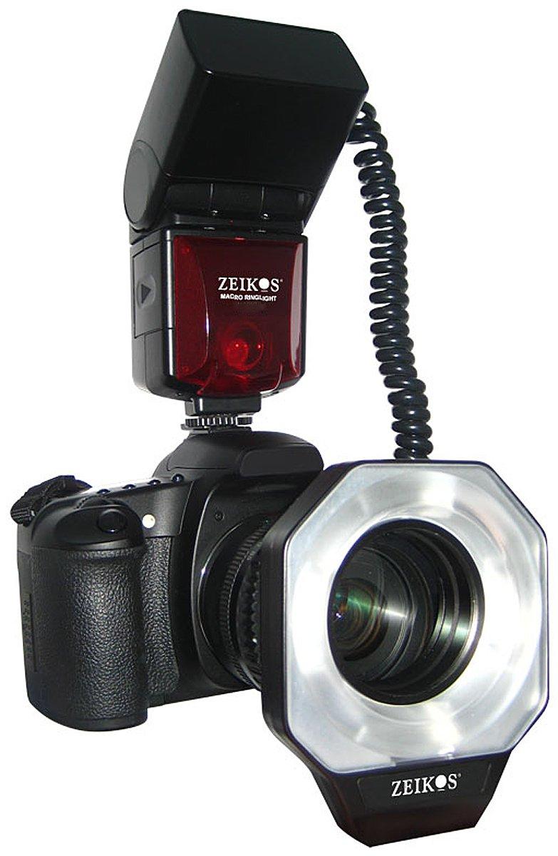 Zeikos ze-mrn1デジタルTTLマクロRinglightフラッシュfor Nikon   B003ZYEJFA