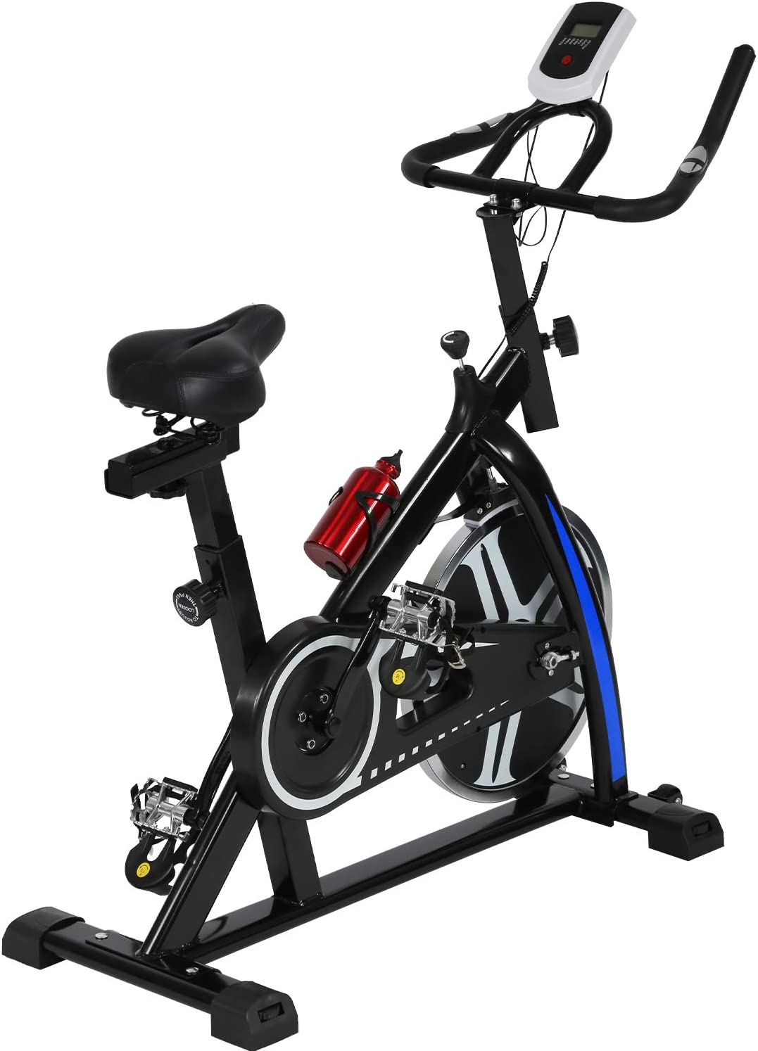 Adults Exercise Bike For Gym Studio Health Fitness Fitness Bike Stationary Spin Bicycle Indoor Cycling Bike Led Display Gym Magnetic Bike
