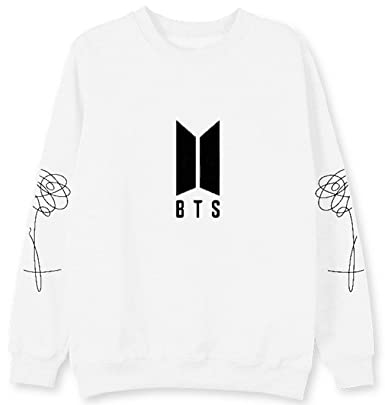 SERAPHY Unisex BTS Sudaderas de Cuello Redondo BTS Love Yourself Jersey Suga Jin Jimin Jung Kook J-Hope Rap-Monster V: Amazon.es: Ropa y accesorios