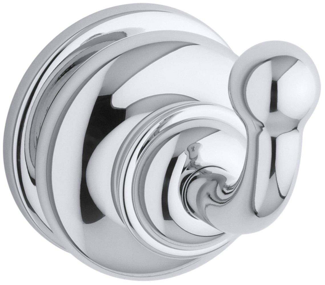 30%OFF KOHLER K-12156-CP Fairfax Single Robe Hook, Polished Chrome
