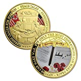 FunYan Singapore Summit Commemorative Coin President Donald Trump and Supreme Leader Kim Jong-Un Peace Talks Challenge Coin