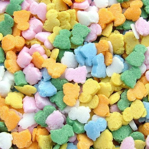 Natural Rainbow Gluten GMO Nuts Dairy Soy Free Confetti East