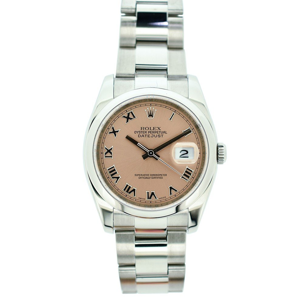 Rolex Datejust automatic-self-wind mens Watch 116200 (Certified Pre-owned) by Rolex (Image #1)