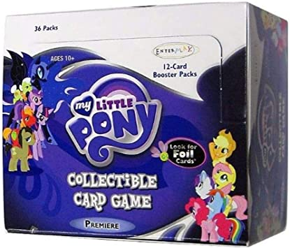 MY LITTLE PONY CCG MLP CCG BOOSTER BOX LOT SPECIAL 4 SEALED BOXES!
