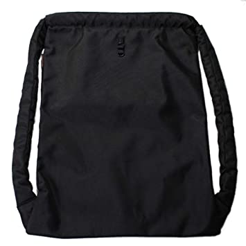Karry3.0 Minimal Nylon Drawstring Backpack Bag Incredibly Thick and  Comfortable Shoulder Ropes with 7aa377ca1e51