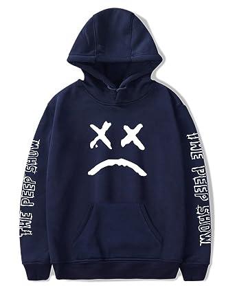 huge selection of 33638 9916c SIMYJOY Unisex Hip Hop Hoodie Emo Rap Coole Pullover Crybaby Spotlight  Straßen Fashion Sweatshirt Für Männer Frauen Mädchen und Jugenden