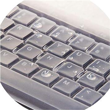 1 cubierta universal de silicona para teclado de computadora ...