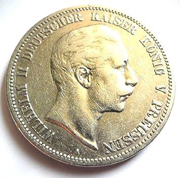Orig 5 Mark Silbermünze 1895 A Ssvz Münze Preußen Kaiser