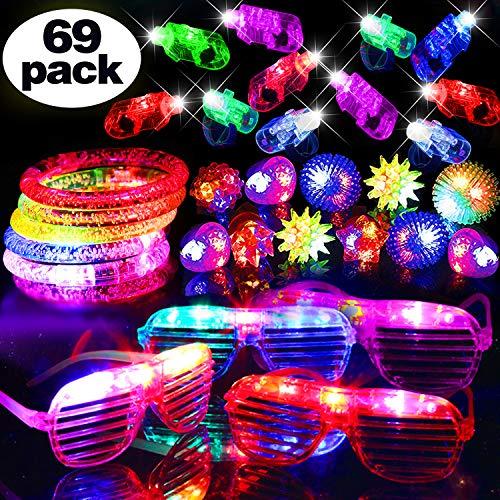 69 PCS LED Light Up Toys Glow in