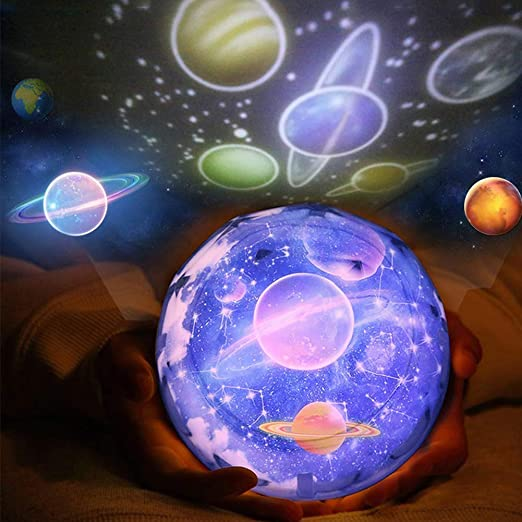 Proyector de estrellas la noche luz, planeta universo Lampara de ...
