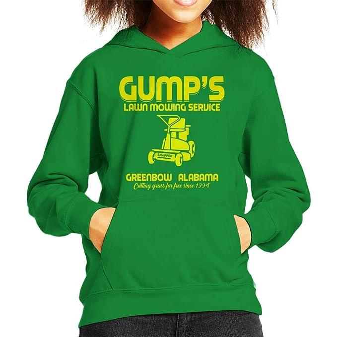 Cloud City 7 Gumps Lawn Mowing Service Forrest Gump Kids Hooded Sweatshirt: Amazon.es: Ropa y accesorios