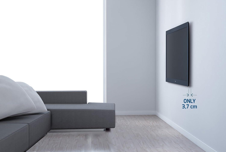 Nero 200x200 Supporto Fisso Ultra Sottile da Parete per Tv a Schermo Piatto da 26/'/' a 40/'/' Meliconi SlimStyle 200 S VESA 100x100