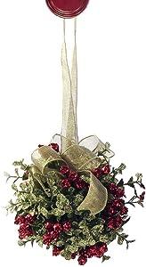 Ganz Mistletoe Door Kiss Ball (KK16)