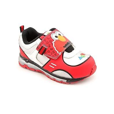 02cfef40a35 Amazon.com   Sesame Street Elmo SES321 Sneaker (Toddler)   Sneakers