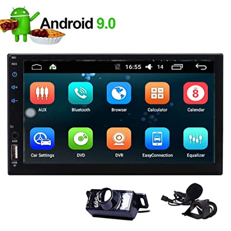 Android 9.0 Car Stereo Radio 9 Inch with Bluetooth Split Screen and PIP Multitasking