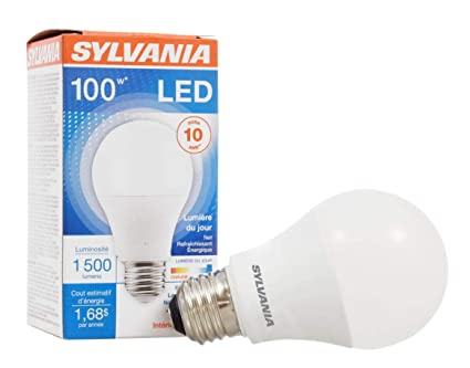 LifeMedium BulbA19 EquivalentLed PackDaylightEnergy Long Sylvania100w Light Lamp1 Savingamp; 14w5000k BaseEfficient FK1JTlc3