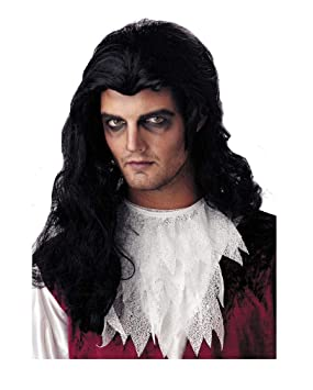 Horror-Shop Perruque pour hommes vampire