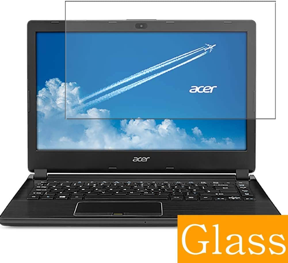 """Synvy Tempered Glass Screen Protector for Acer Travelmate P446-M / P446-MG 14"""" Visible Area 9H Protective Screen Film Protectors (Not Full Coverage)"""