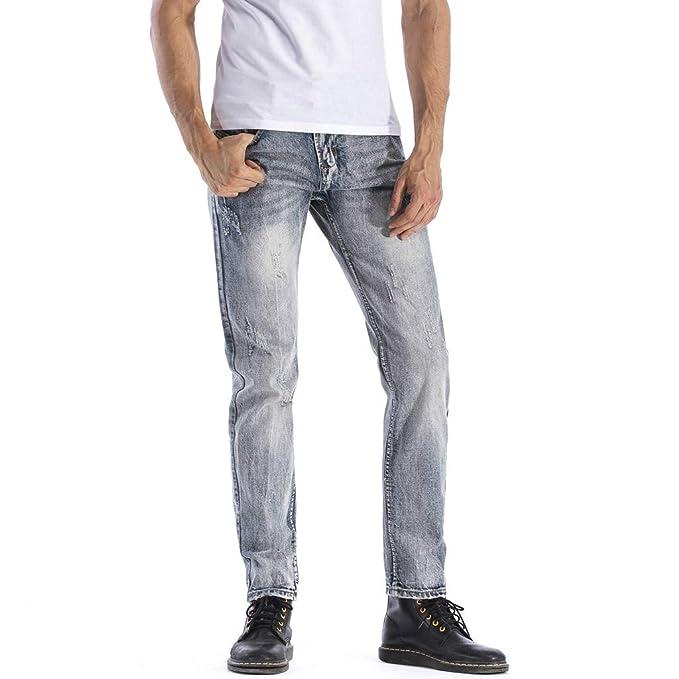 Sylar Pantalones Vaqueros Hombres Tallas Grandes, Tendencia ...