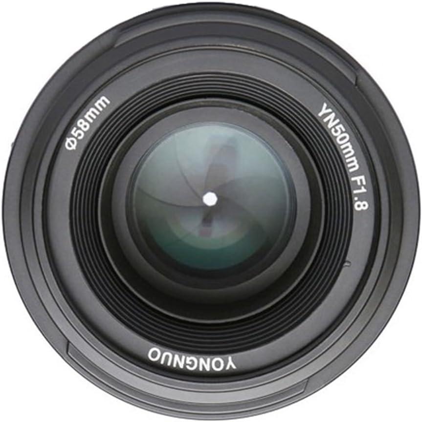 YONGNUO YN50 50mm F1.8 Lente Objetivo (Apertura F/1.8) para Nikon ...