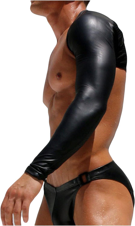 Letuwj Mens Lingerie Pole Dance Arm Sleeves Clubwear