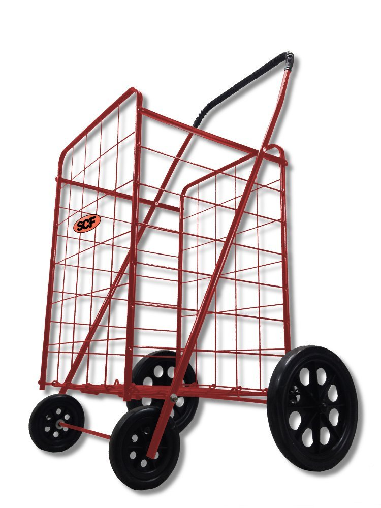 Megacart Fold Up Collapsible Shopping Utility Cart By Scf