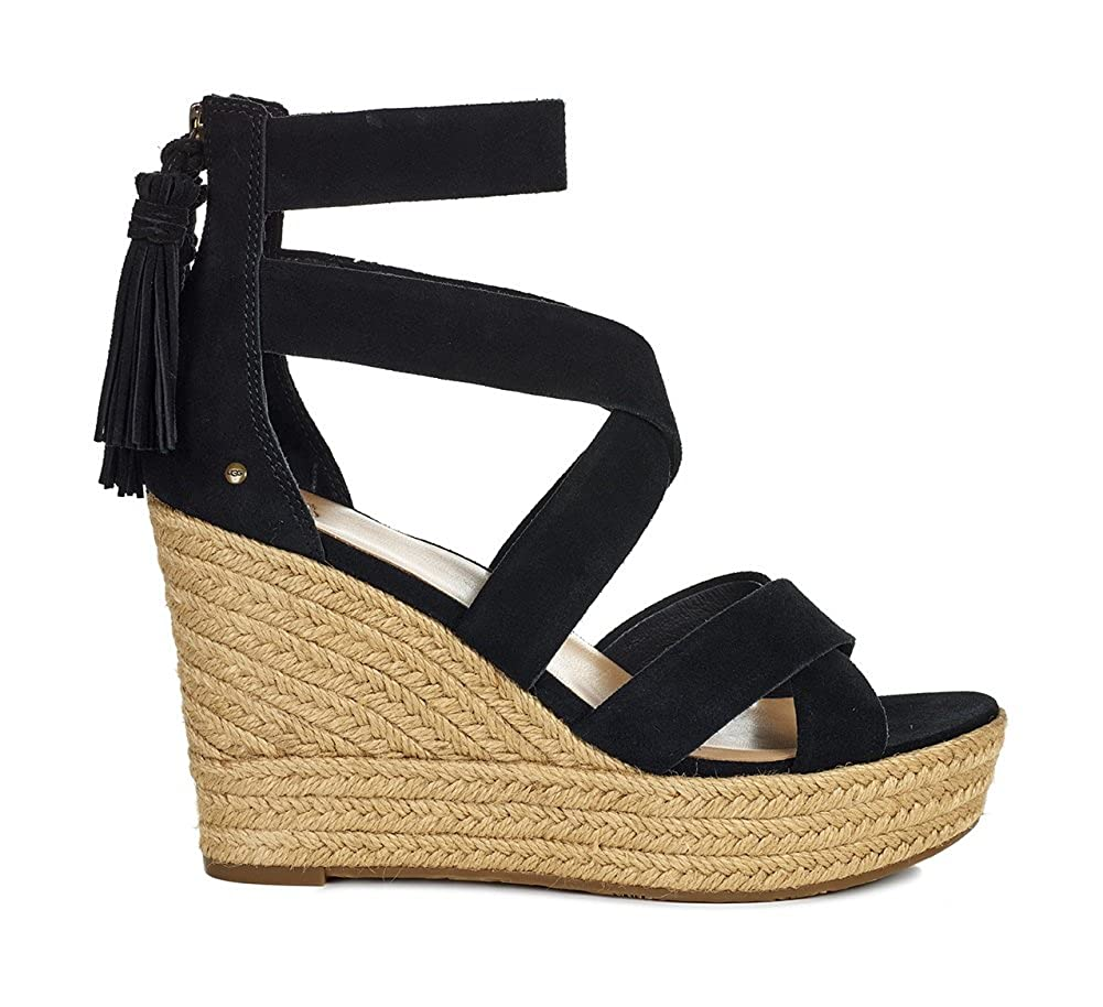 48993669c8 UGG Womens Raquel Wedge Sandal, Black, Size 6: Amazon.ca: Shoes & Handbags