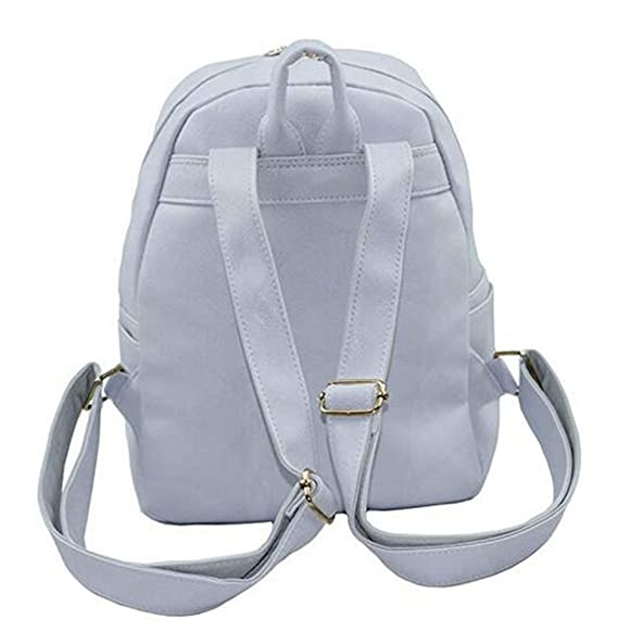 Amazon.com | LE BI YOU Mini Backpack For Girls Cute Cat Design Fashion Leather Bag Women Casual Dayback (Grey) | Kids Backpacks