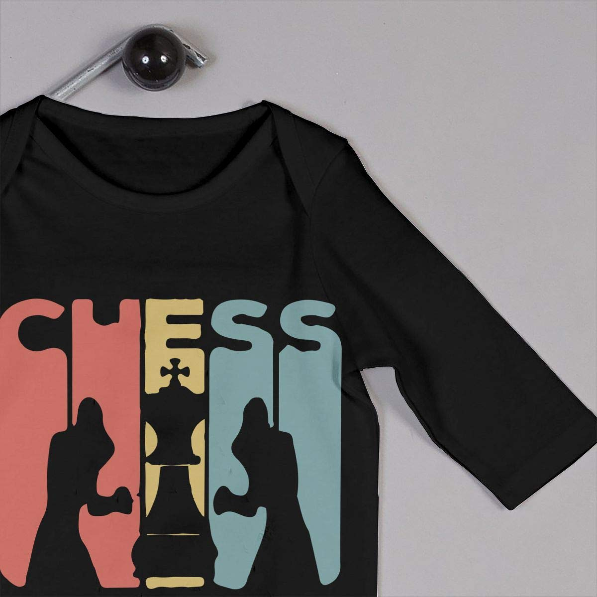 Chess Boxing Vintage Retro Toddler Baby Long Sleeve Romper Jumpsuit Baby Clothes