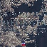 """Beethoven: Middle String Quartets Op.59 Nos. 1-3 """"Rasumovsky"""" Op. 74 Harp"""""""