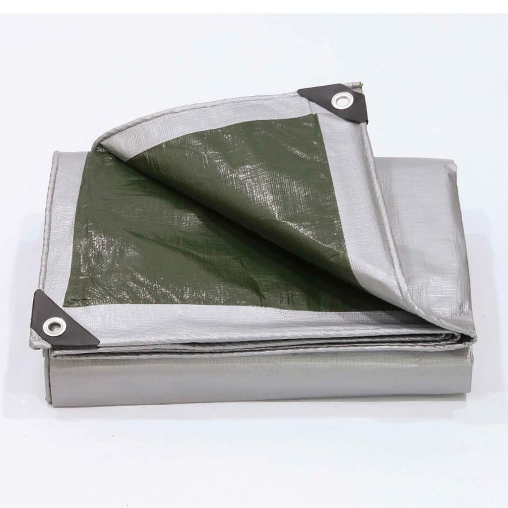 Zeltplanen Planen-Regenschutztuch Wasserdichter Poncho-Markise Dickes Segeltuch Linoleum Shade Sonnenschutztuch - Mehrere Größenoptionen (größe   4  6M)