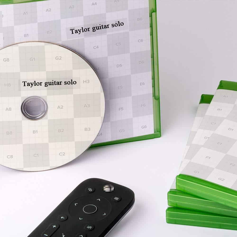 Ersetzen Dymo LetraTag 12mm Kunststoff Etikettenband Schwarz auf Wei/ß,Schriftband Kompatibel mit Dymo LT 91201 91221 S0721660 mit Drucker LT-100H LT-100T LT-110T QX 50 XR XM 2000 Plus Etikettendrucker