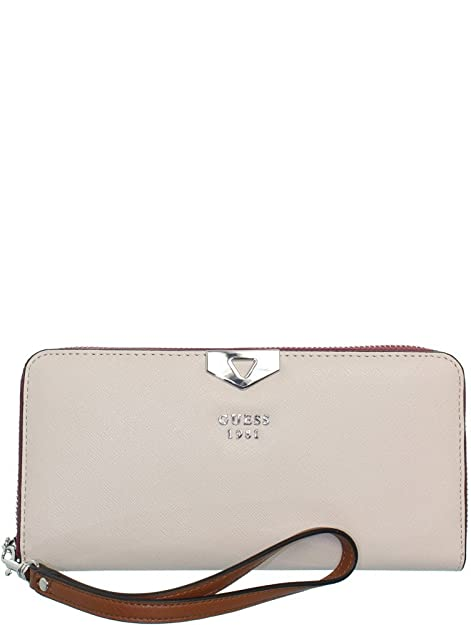 Guess - Cartera para mujer beige SML STONE MULTI: Amazon.es: Zapatos y complementos