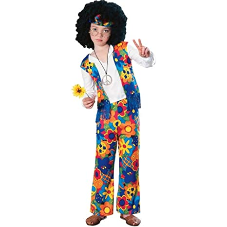 Hippie Boy Kids Costume  sc 1 st  Amazon.com & Amazon.com: Hippie Boy Kids Costume: Toys u0026 Games