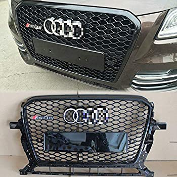 Amazon com: Front Grilles ABS FOR Audi SQ5,RSQ5 Q5 2013-2017