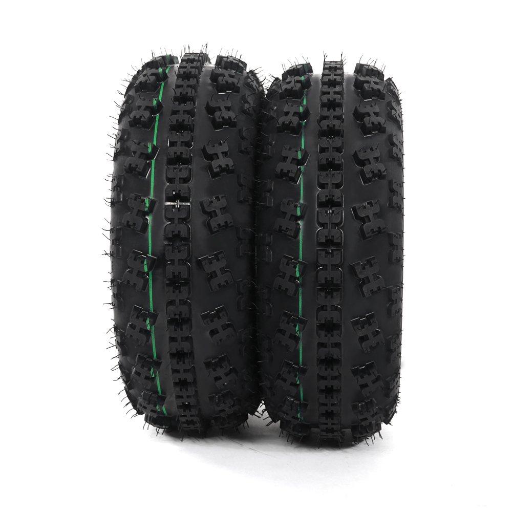 Front Tire Set (2x) 4ply 21X7-10 Sport ATV Tires 21 7 10 21x7x10 Pair