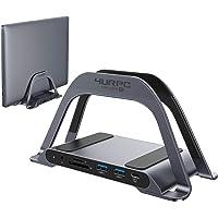 USB C Laptop Docking Station Dual Monitor, 10-in-1 Dual HDMI Monitor USB C Dock Stand with 2 HDMI, 3 USB, SD/TF, USB C…