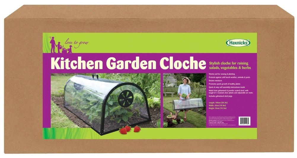 Tierra Garden 50–6000Haxnicks Jardin Cloche avec aération et poignée de transport 50-6000