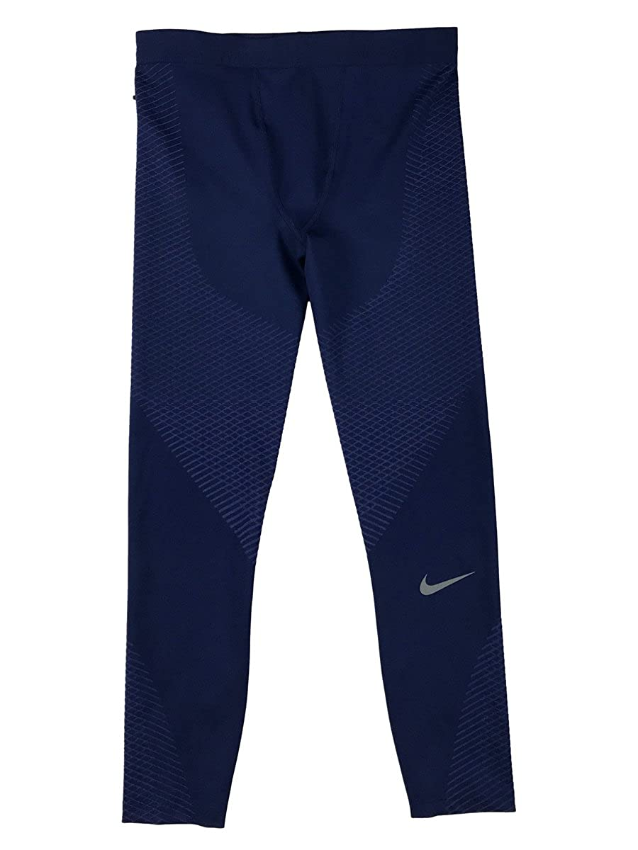 Nike Zonal強度メンズランニングタイツ B01MQYM4J9 Medium|Binary Blue Binary Blue Medium
