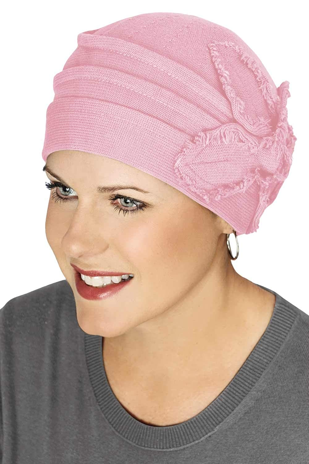 81e46b8a7 Butterfly Fringe Beanie Hats for Cancer Patients -Chemo Hats for Women