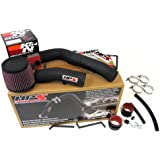 HPS 37-275WB Wrinkle Black Long Ram Cold Air Intake Kit (Cool, CAI) (Non-Carb Compliant)