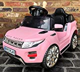 Pink Kids Range Rover Evoque Style 4 x 4 Electric / Battery Ride on Car 6v